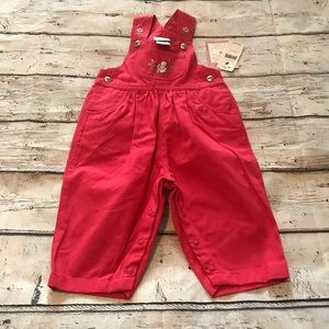 Carter's Overalls 9-12M NWT